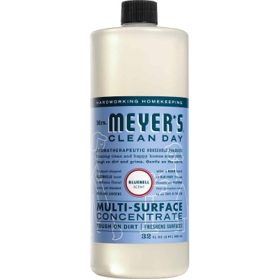 Mrs. Meyer's Clean Day 32 Oz. Bluebell Multi-Surface Concentrate