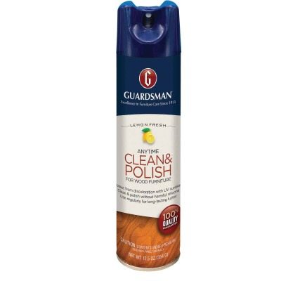 Guardsman 12.5 Oz. Lemon Anytime Clean & Polish for Wood Furniture