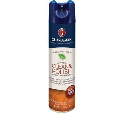 Guardsman 12.5 Oz. Woodland Fresh Anytime Clean & Polish for Wood Furniture