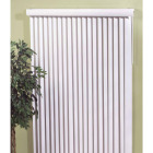 Home Impressions 66 In. x 84 In. White Vinyl Vertical Blinds Image 1