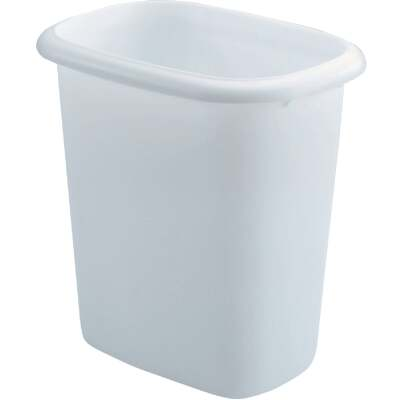 Rubbermaid 6 Qt. White Wastebasket