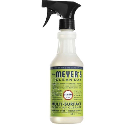 Mrs. Meyer's Clean Day 16 Oz. Lemon Verbena Multi-Surface Everyday Cleaner