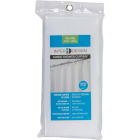 InterDesign 72 In. x 72 In. White Polyester Shower Curtain Liner Image 2