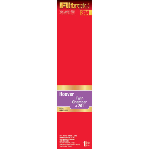 3M Filtrete Hoover Twin Chamber & 201 HEPA EmPower, Savvy, WindTunnel Bagless Vacuum Filter