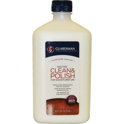 Guardsman 16 Oz. Clean & Polish Wood Furniture Nurture Cream
