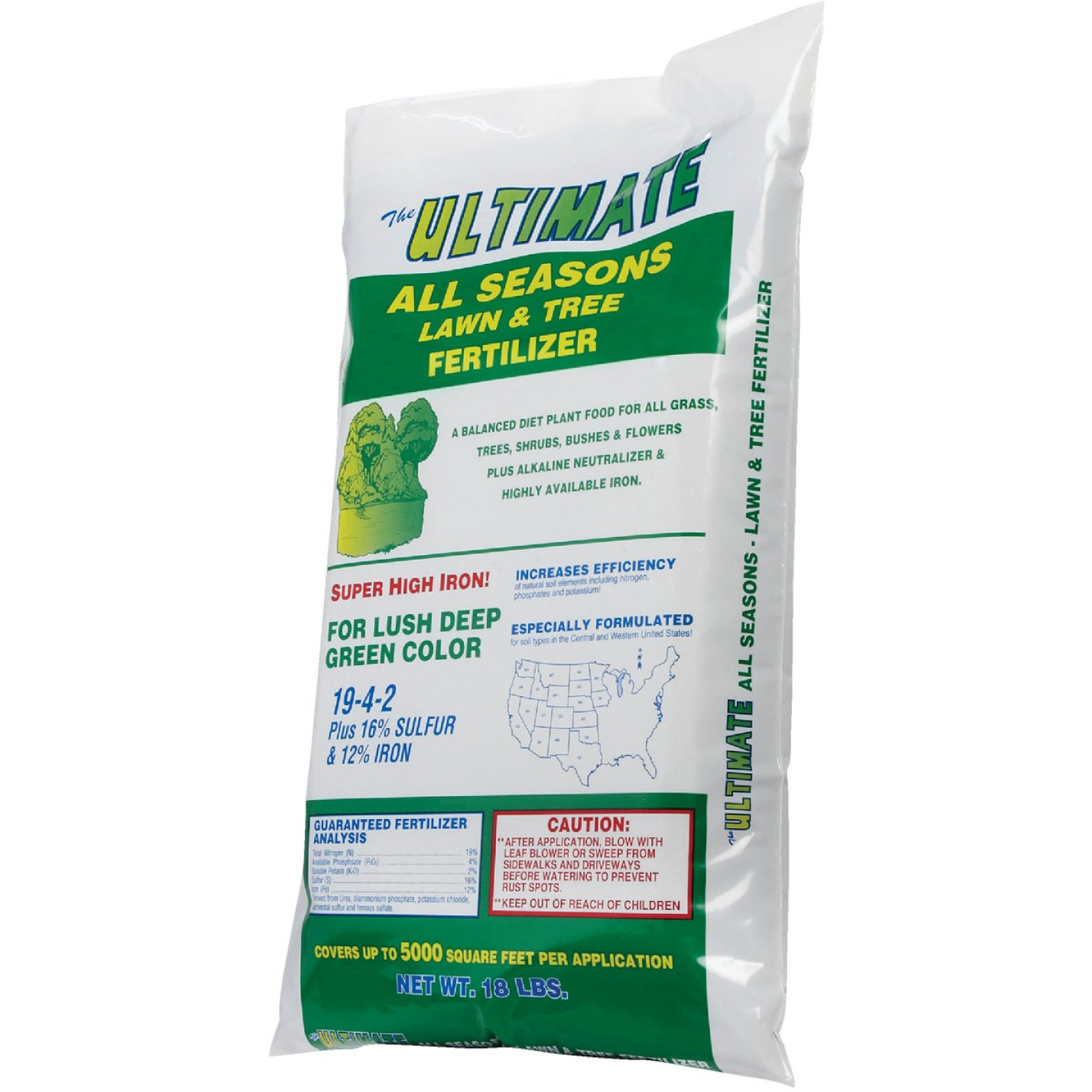 Ultimate 18 Lb. 5000 Sq. Ft. 19-4-2 All Seasons All Purpose Fertilizer Image 5