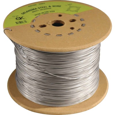 Oklahoma Steel & Wire 1/4-Mile x 17 Ga. Steel Electric Fence Wire