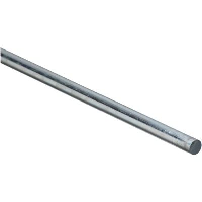 Hillman Steelworks Steel 3/8 In. X 3 Ft. Solid Rod