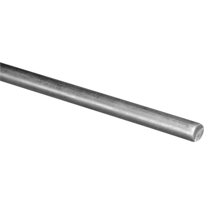 Hillman Steelworks Zinc-Plated 5/8 In. X 3 Ft. Solid Rod
