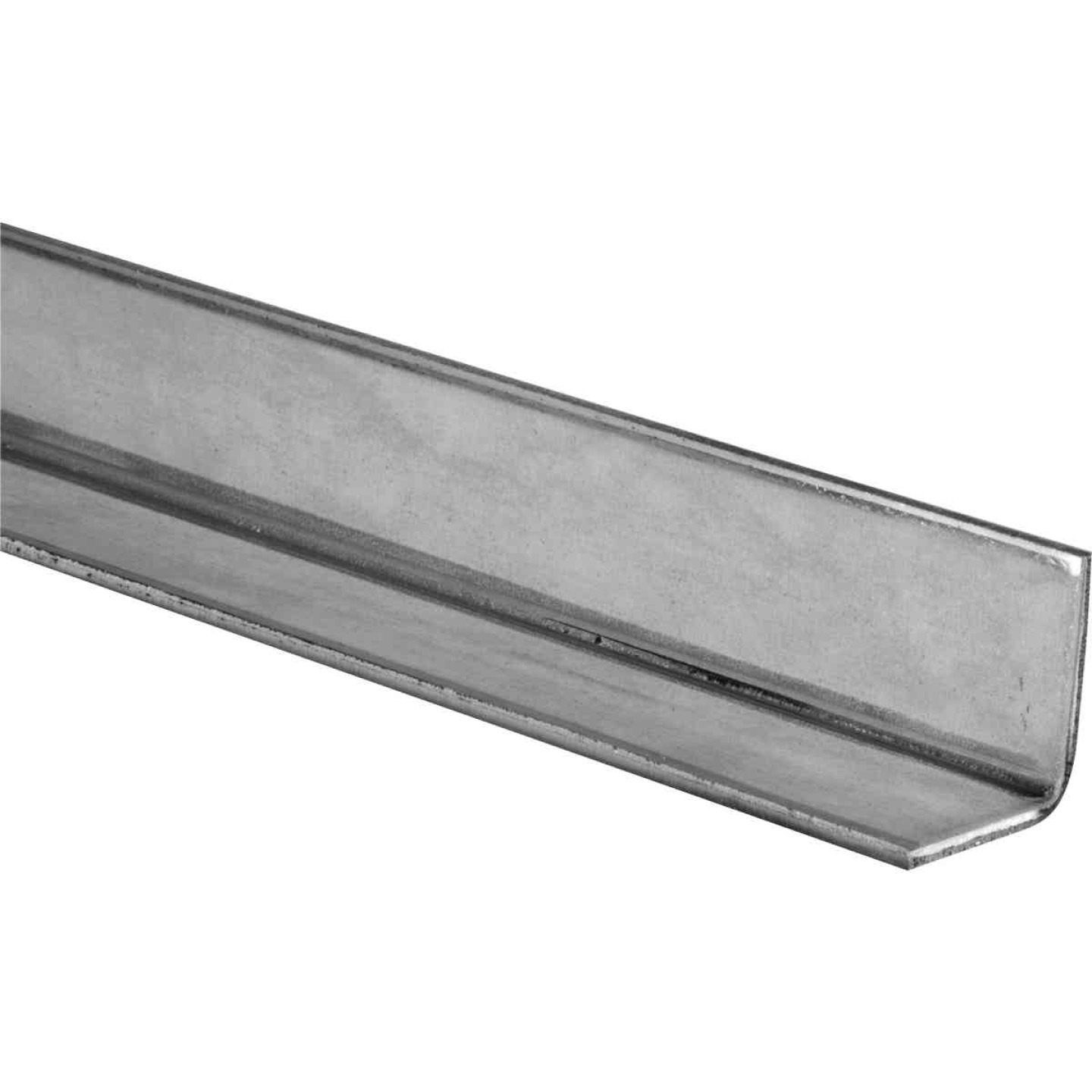 HILLMAN Steelworks Galvanized 1 In. x 1 Ft. Solid Angle Image 1