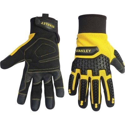 Stanley Impact Pro Men's Large Synthetic Leather High Performance Glove