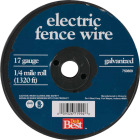 Keystone Red Brand 1/4-Mile x 17 Ga. Steel Electric Fence Wire Image 2