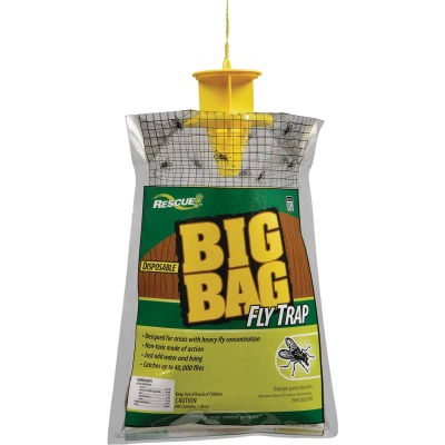 Rescue Big Bag Disposable Outdoor Fly Trap