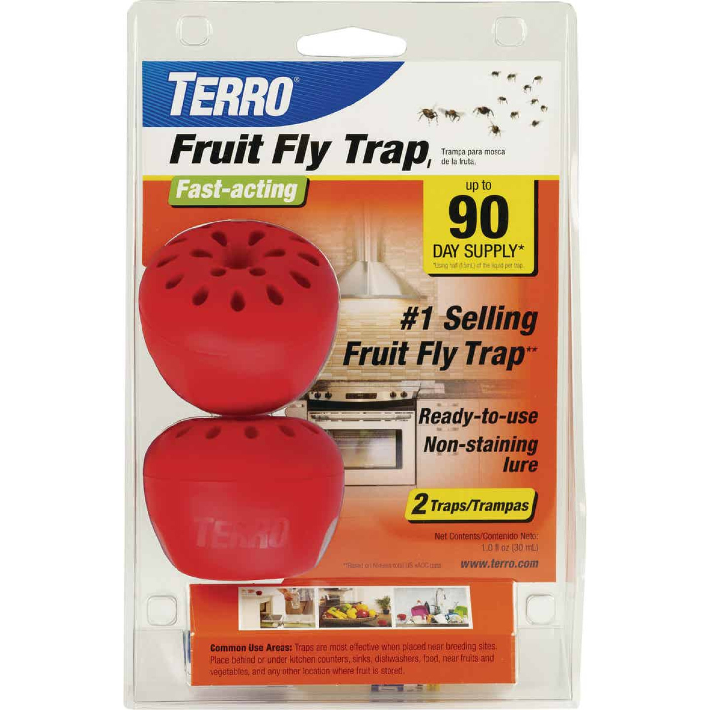Terro Disposable Indoor/Outdoor Fly Trap (2-Pack) Image 1