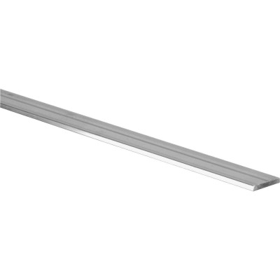 Hillman Steelworks 1 In. x 8 Ft. x 1/4 In. Aluminum Bar Flat Stock