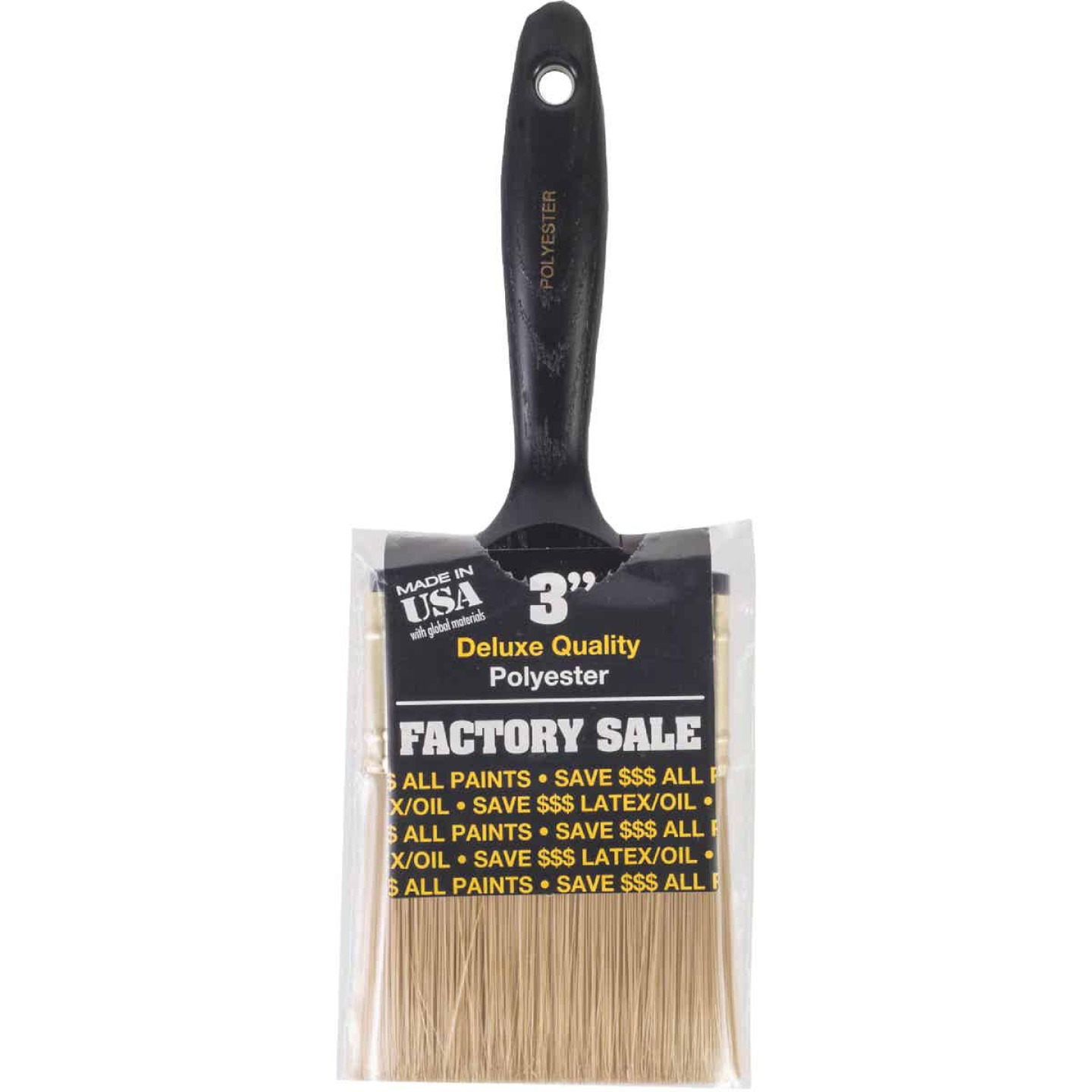 Wooster Factory Sale 3 In. Wall Paint Brush Image 1