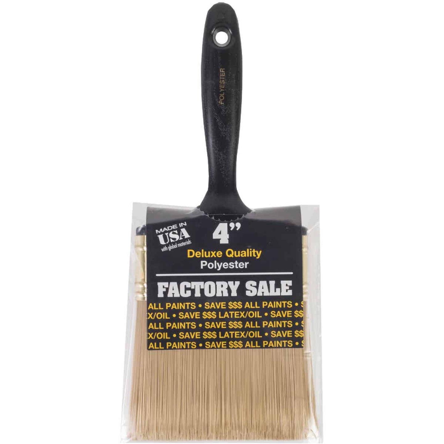 Wooster Factory Sale 4 In. Wall Paint Brush Image 1