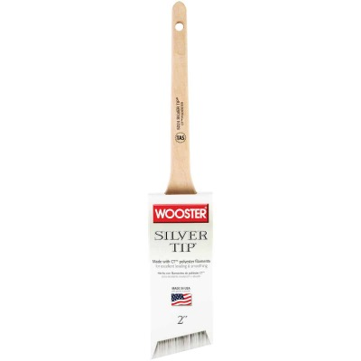Wooster SILVER TIP 2 In. Thin Angle Sash Paint Brush