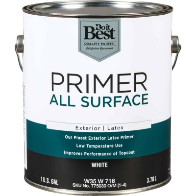 Do it Best White Exterior Primer, 1 Gal.