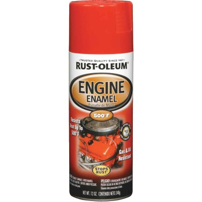 Rust-Oleum Stops Rust 12 Oz. Gloss Ford Red Engine Enamel Spray Paint