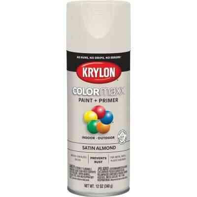 Krylon ColorMaxx 12 Oz. Satin Spray Paint, Almond