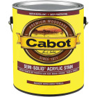 Cabot Semi-Solid Exterior Stain, Deep Base, 1 Gal. Image 1