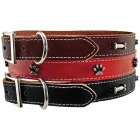 Westminster Pet Ruffin' it Adjustable 20 In. Ornamented Leather Dog Collar Image 4