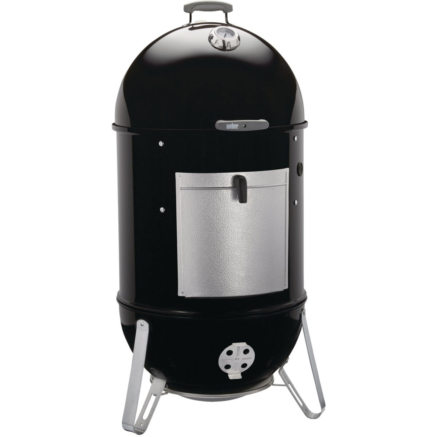 Weber Smokey Mountain Cooker 22 In. Dia. 726 Sq. In. Vertical Charcoal Smoker Image 1