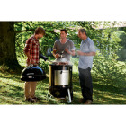 Weber Smokey Mountain Cooker 22 In. Dia. 726 Sq. In. Vertical Charcoal Smoker Image 3