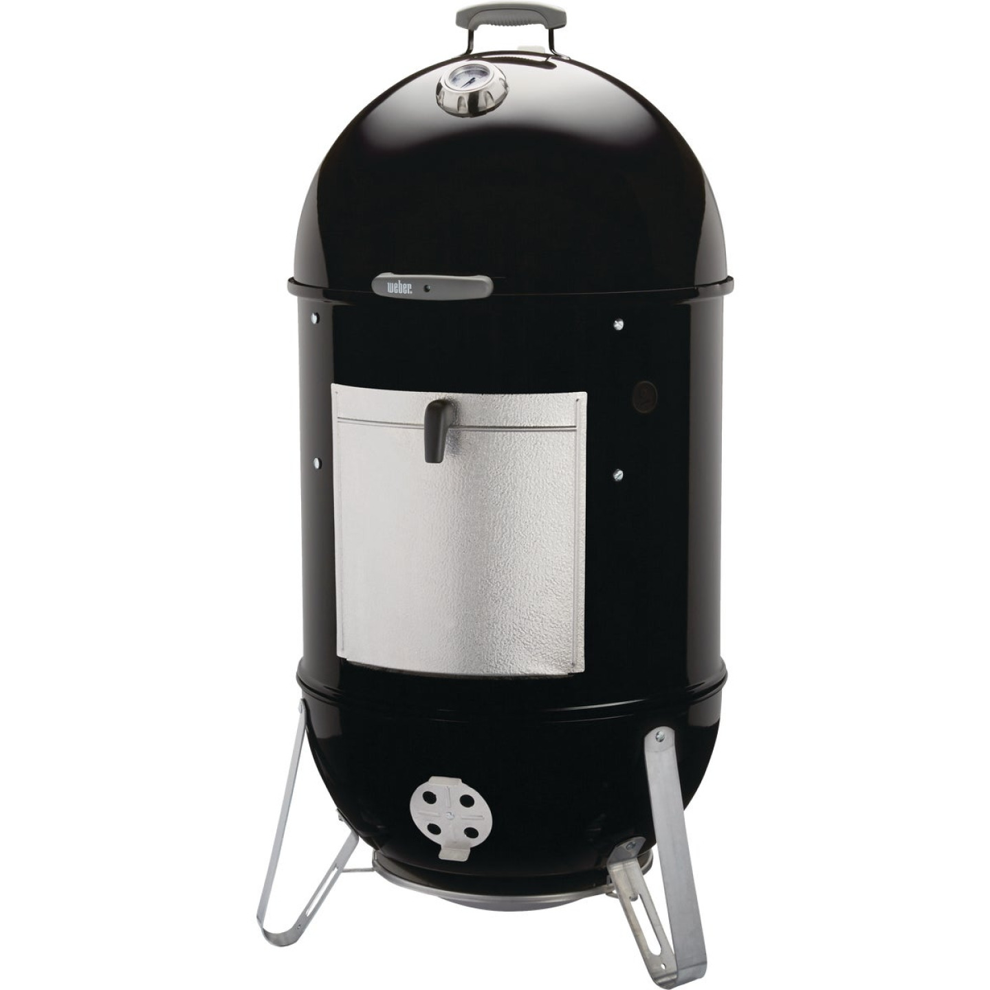Weber Smokey Mountain Cooker 22 In. Dia. 726 Sq. In. Vertical Charcoal Smoker Image 10