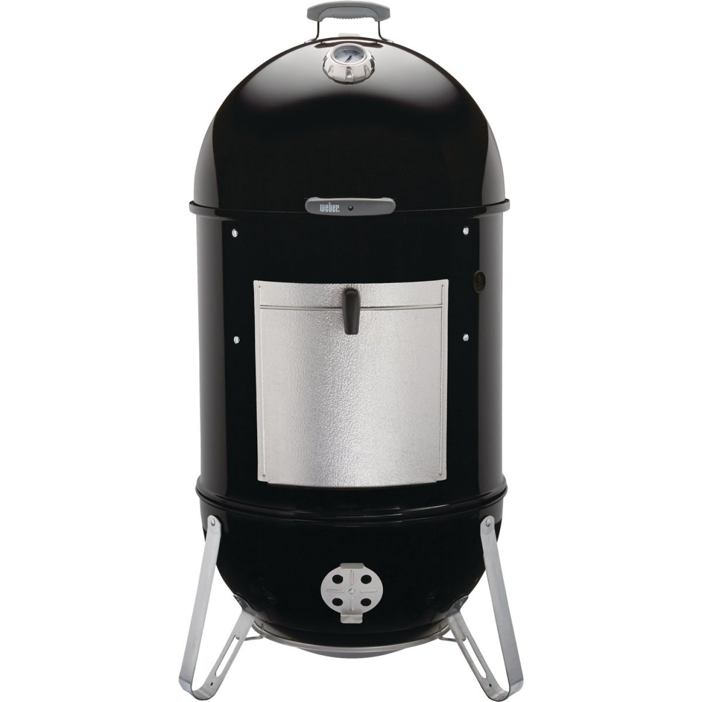Weber Smokey Mountain Cooker 22 In. Dia. 726 Sq. In. Vertical Charcoal Smoker Image 11