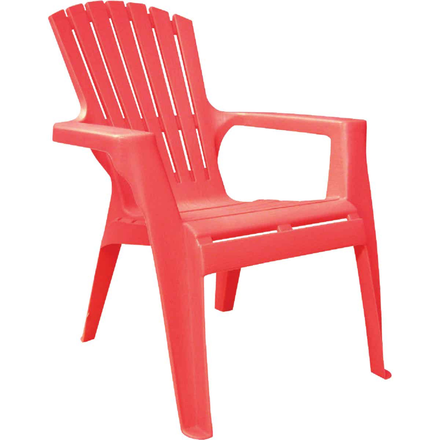Adams Kids Red Resin Adirondack Chair Image 1