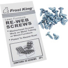 Frost King Plated Outdoor Chair Webbing Screws (20-Pack) Image 1