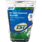 Camco TST Drop-INS Tank And Toilet Bowl Cleaner, (26.25 Oz., (15-Pack) Image 1