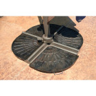 Outdoor Expressions 19 In. Offset Bronze Resin Umbrella Base Image 6