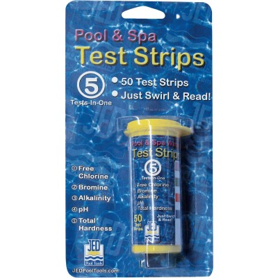 JED Pool and Spa 5 Tests-In-One Strips 50 Ct.